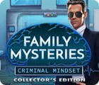 Игра Family Mysteries: Criminal Mindset Collector's Edition