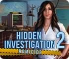 Игра Hidden Investigation 2: Homicide