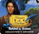 Игра Memoirs of Murder: Behind the Scenes Collector's Edition