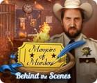 Игра Memoirs of Murder: Behind the Scenes