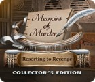 Игра Memoirs of Murder: Resorting to Revenge Collector's Edition