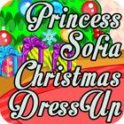 Игра Princess Sofia Christmas Dressup
