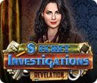 Игра Secret Investigations: Revelation