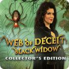 Игра Web of Deceit: Black Widow Collector's Edition