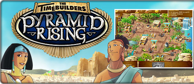 The Timebuilders: Pyramid Rising ексклузивна игра