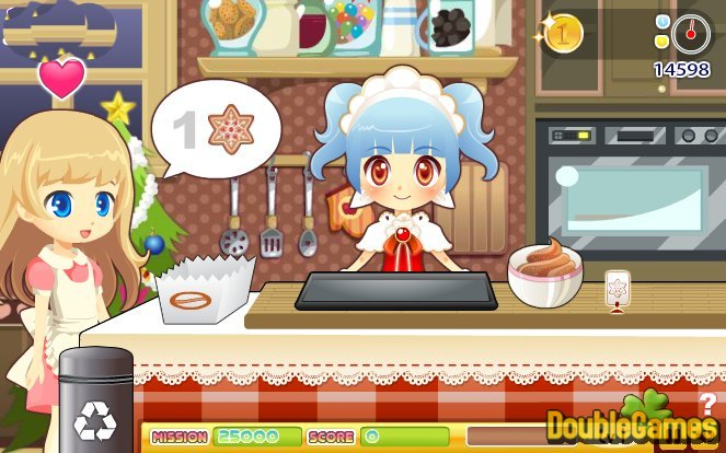 Free Download Christmas Cookie Shop Screenshot 3