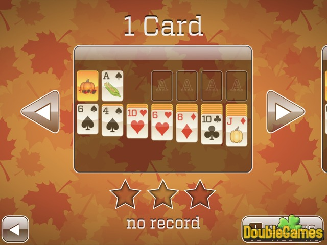 Free Download Fall Solitaire Screenshot 1