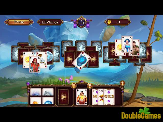 Free Download Solitaire: Elemental Wizards Screenshot 2