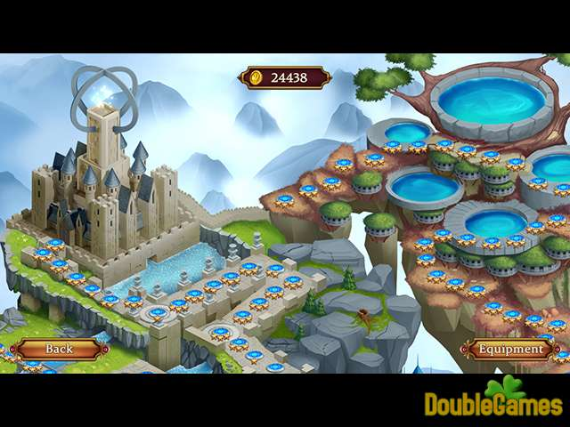 Free Download Solitaire: Elemental Wizards Screenshot 3
